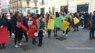 In piazza per Marielle, manifestazione a Cosenza