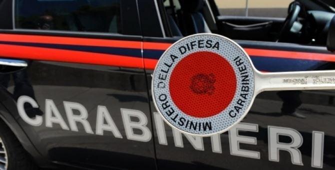 Una paletta dei carabinieri