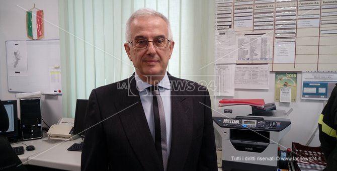 Il neocomandante dei vigili del fuoco Calabria, Renato Cardia