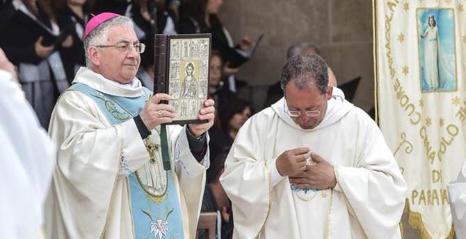 Monsignor Luigi Renzo e Don Michele Cordiano