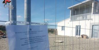 Crotone, scoperto fabbricato abusivo in località Gabella