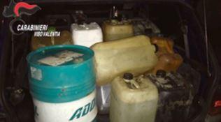 Rubano oltre 4000 litri di carburante, 4 arresti a San Calogero