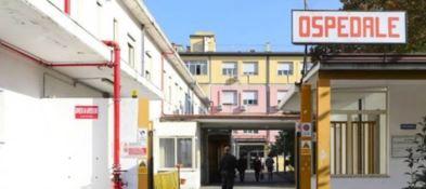 L'ingresso dell'ospedale Jazzolino