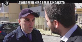 Crotone, Le Iene contro la Cgil: c'è chi lavora in nero per il sindacato