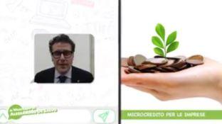 Microcredito, il WhatsApp di Alessandro De Salvo