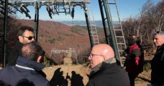 Aprono gli impianti sciistici di Lorica, Oliverio: «Inizia una nuova storia per il turismo in Calabria»