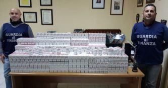 In viaggio con 40 chili di sigarette di contrabbando: arrestato a Villa San Giovanni