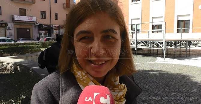 La senatrice Corrado