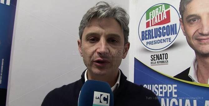 Il senatore Giuseppe Mangialavori