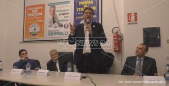 Giorgetti (Lega) a Crotone: «bisogna combattere la rassegnazione della gente del Sud»