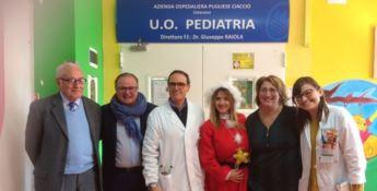 """Catanzaro, il """"dono"""" di Aurora al reparto di Pediatria del Pugliese"""