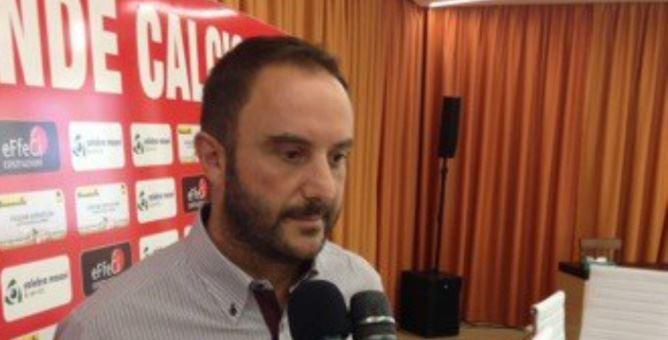 Il presidente del Rende Calcio Fabio Coscarella