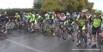 Il trofeo Città di Crotone sfida la pioggia e il freddo, successo per la manifestazione ciclistica
