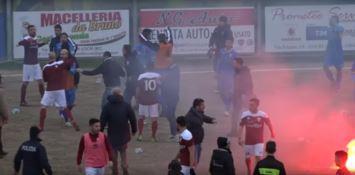 Locri-Licata: punizioni esemplari del giudice sportivo per i tafferugli di fine partita