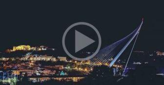 """""""Il ponte che canta"""", l'inaugurazione dell'opera di Calatrava (SEGUI LA DIRETTA)"""