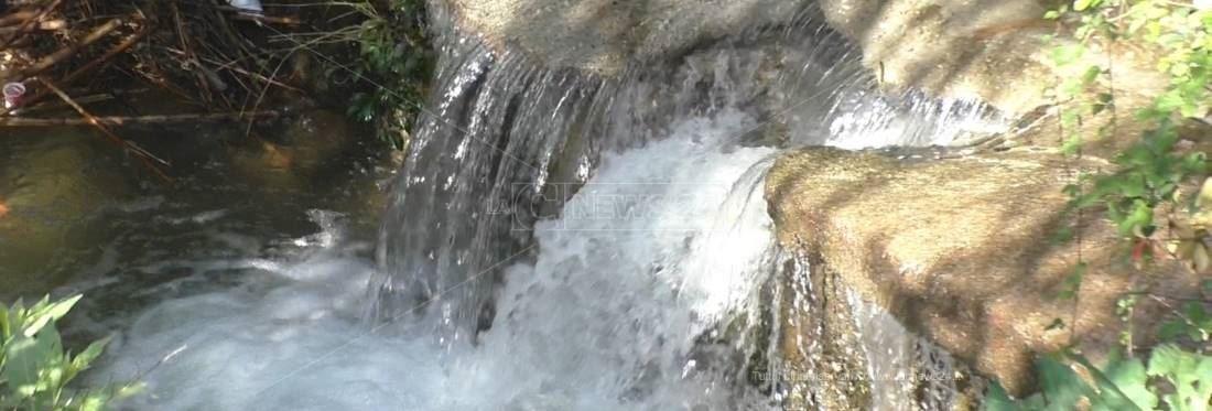 Il torrente Cantagalli a Lamezia Terme