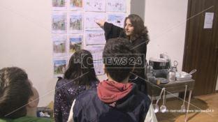 Gli studenti di Zumpano e il sindaco Lucente