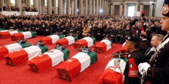 I funerali delle vittime della strage di Nassiriya