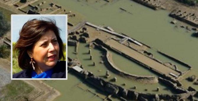 Adele Bonofiglio e il parco archeologico di Sibari