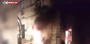 """Incendio al locale """"Zero glutine life"""" di Reggio Calabria"""