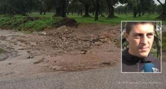 La strada dove persero la vita Stefania Signore e i suoi bambini