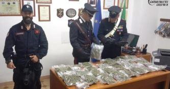Lattarico, ottantenni arrestati per spaccio di droga