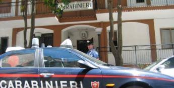 La tenenza dei carabinieri di Scalea