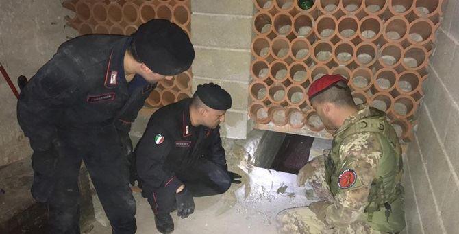 Bunker rinvenuto