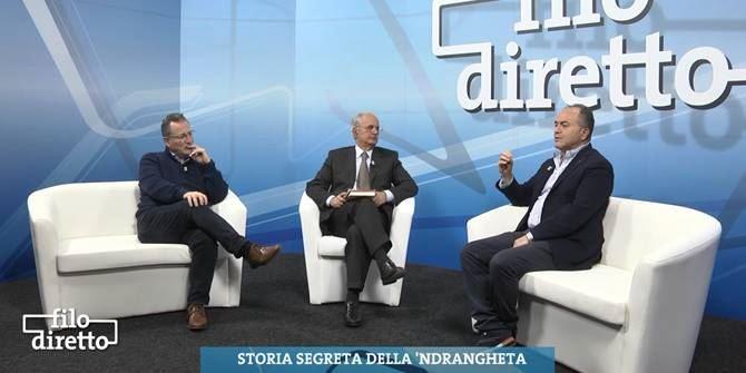 Antonio Nicaso e Nicola Gratteri ospiti a Filo diretto