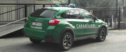 Macchina Carabinieri della Forestale