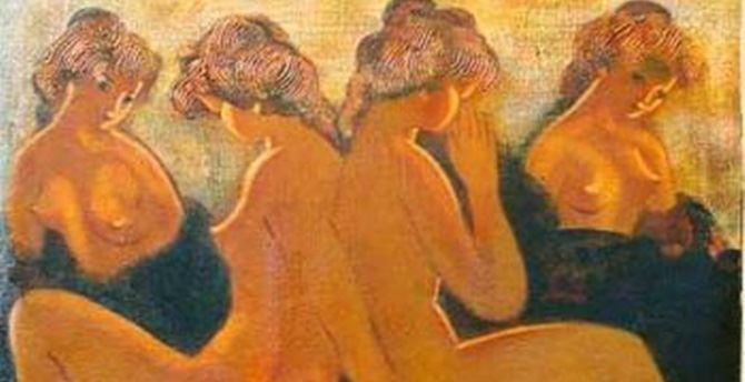 Arnaldo Mori, Quattro Nudi Femminili