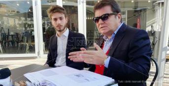 La conferenza stampa presieduta da Francesco Grandinetti
