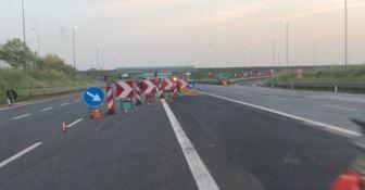 Un tratto dell'autostrada A2
