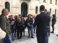 Reggio Calabria e la protesta dei vigili urbani