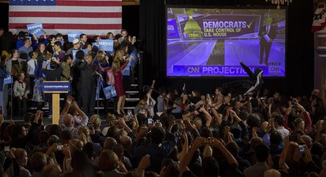 Elezioni Usa (foto Ansa)