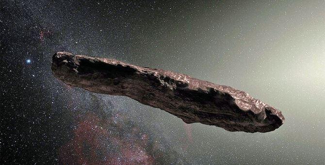 L'asteroide Oumuamua