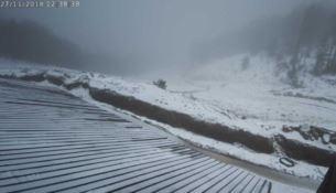 In Calabria è iniziato l'inverno, prima neve in Sila