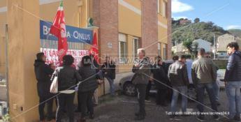 I dipendenti della fondazione Betania in sciopero