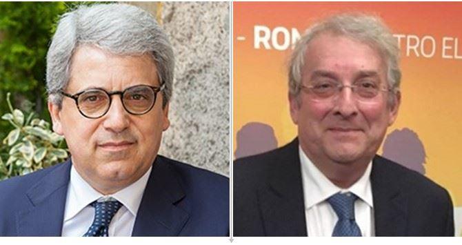Gianni Dal Moro ed Ernesto Magorno