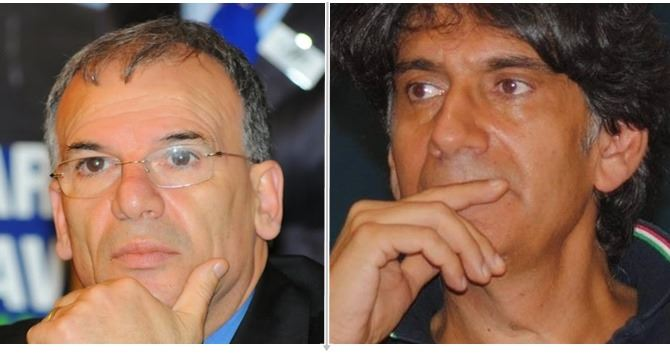 Domenico Tallini e Carlo Tansi
