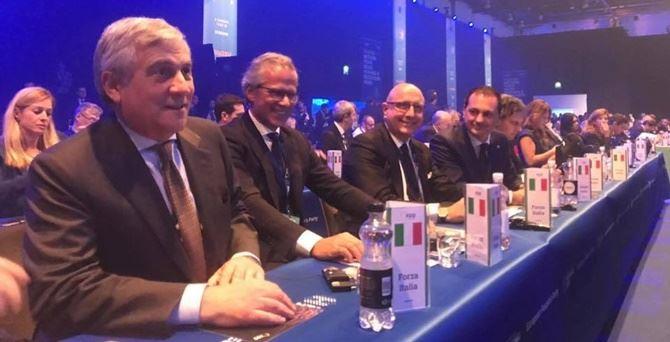 Forza Italia al Congresso del Partito popolare europeo