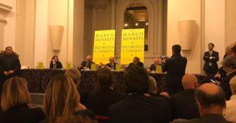 """La presentazione del libro di Marco Minniti """"Sicurezza è libertà"""""""