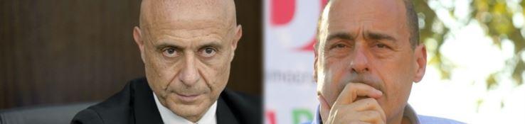 Marco Minniti e Nicola Zingaretti