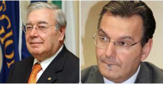 Ennio Morrone e Giuseppe Giudiceandrea