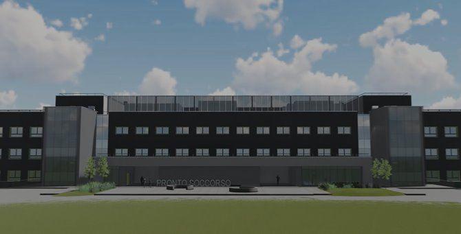 Il progetto dell'ospedale della Piana