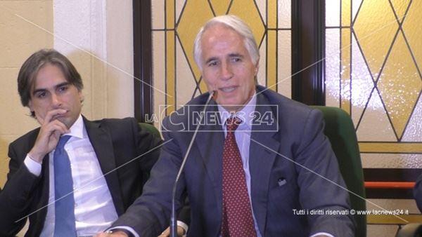 Giuseppe Falcomatà e Giovanni Malagò