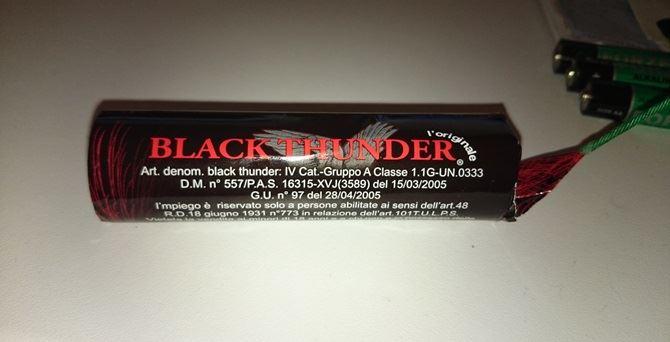 Petardo Black Tunder