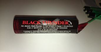 Petardo Black Tunder