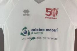 SERIE C | Rende, sabato in campo con la maglia celebrativa del cinquantenario