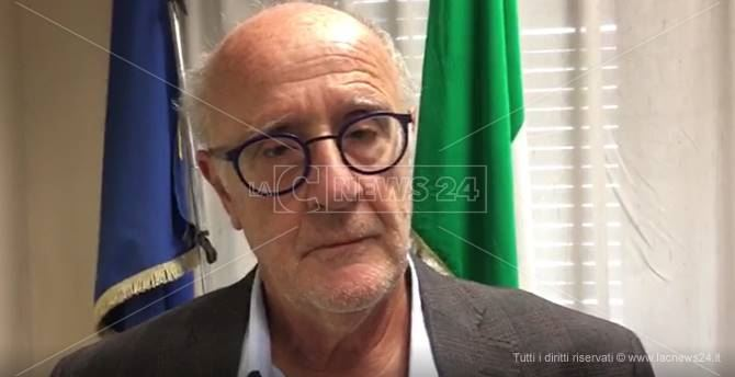 Il procuratore di Locri, Luigi D'Alessio